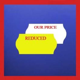 Promotion Price Gun Labels - 26mm x 12mm