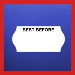 'Best Before Labels - 2612 CT4 26mm x 12mm