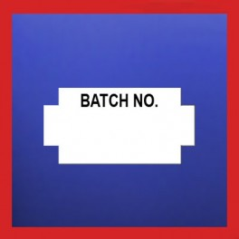 'Batch No' For Nor 2/9 & Nor 3/9 B Guns 25mm x 14mm (45k)