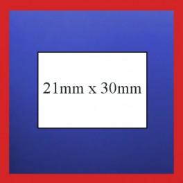 PB3-208 Plain Price Gun Labels - 21mm x 30mm