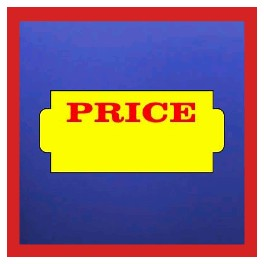 Nor D Stock 'PRICE' Labels