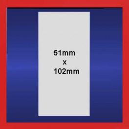 51mm x 102mm Plain Thermal Labels on Rolls - 6k Labels per box