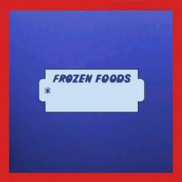 Frozen Foods Labels for the Nor D label Gun
