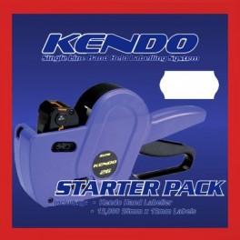 Sato Kendo 26 Pricing Gun & Labels Pack - 8 Rolls Labels & Gun